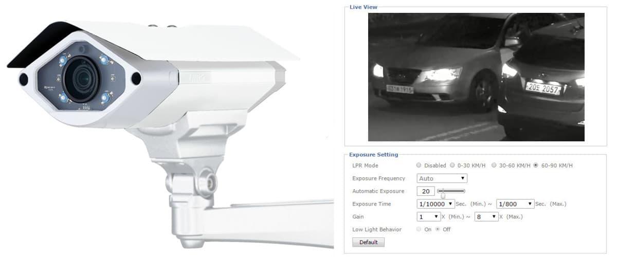 LPR Camera IP Camera