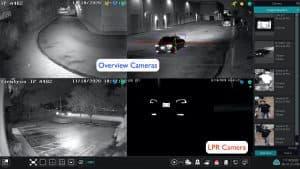 LPR camera overview 4K