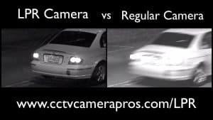 License Plate Capture Camera vs Non LPR