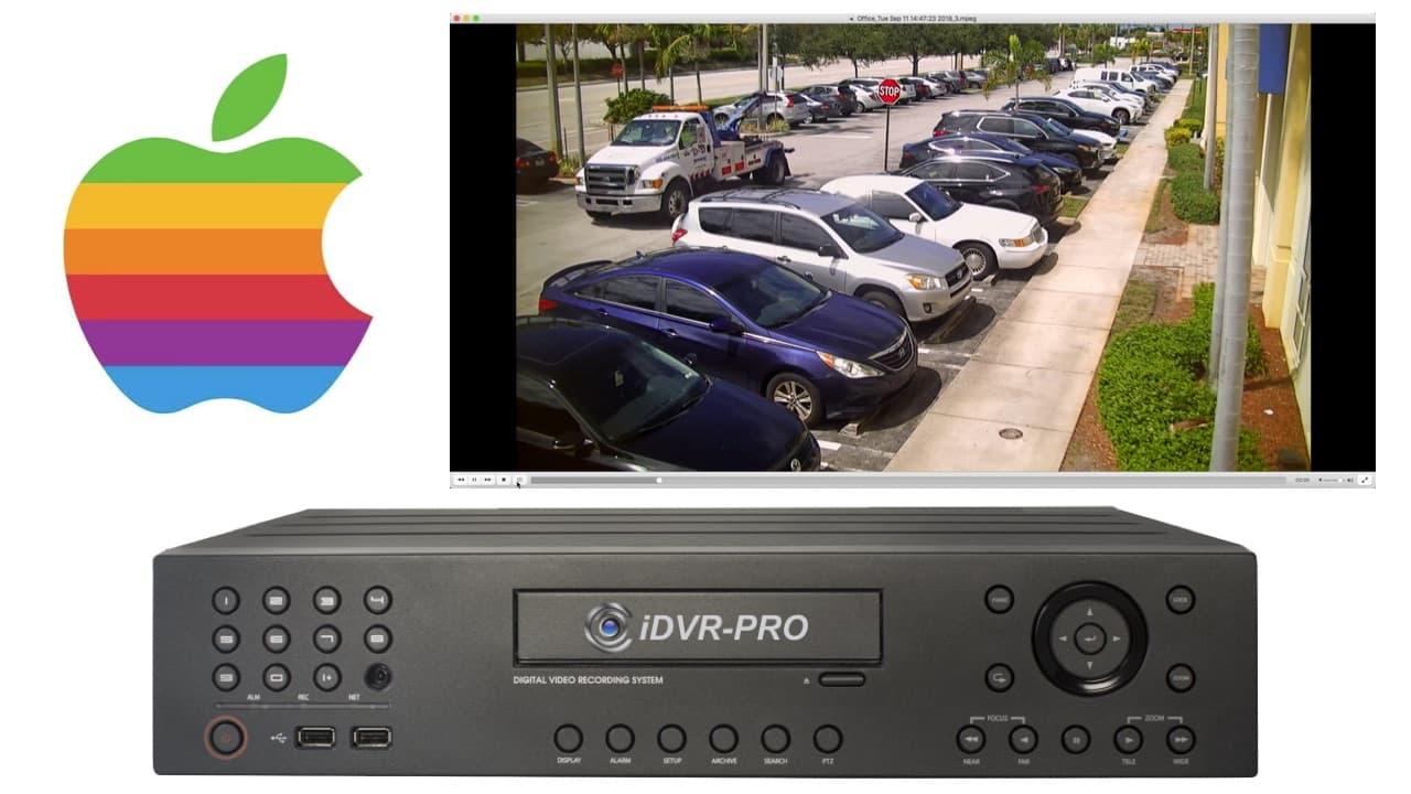 Mac Surveillance DVR Software Video Backup
