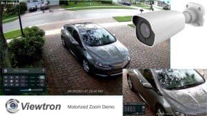 Motorized Zoom IP Camera