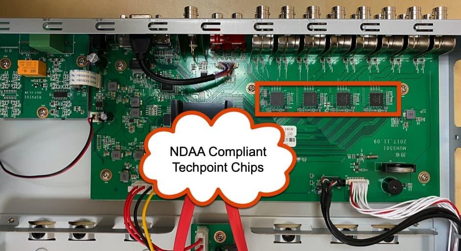 NDAA Compliant Security Camera DVR