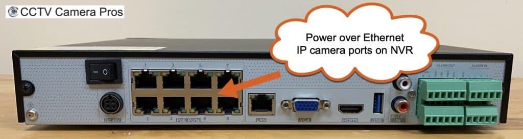 NVR PoE IP Camera