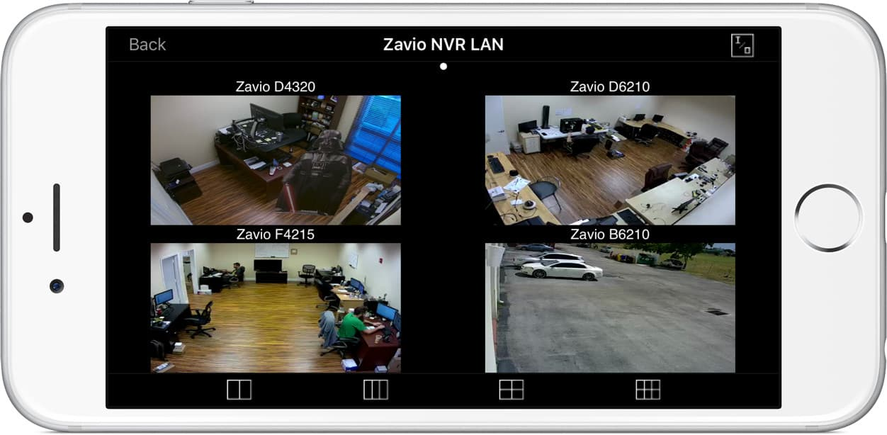 Network IP Camera iPhone App