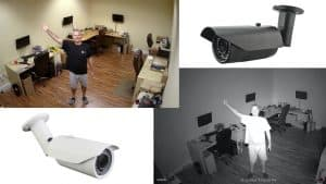 Outdoor Security Camera with-IR Night Vision