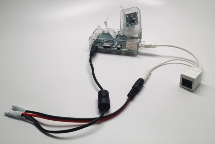 PoE Splitter Raspberry Pi