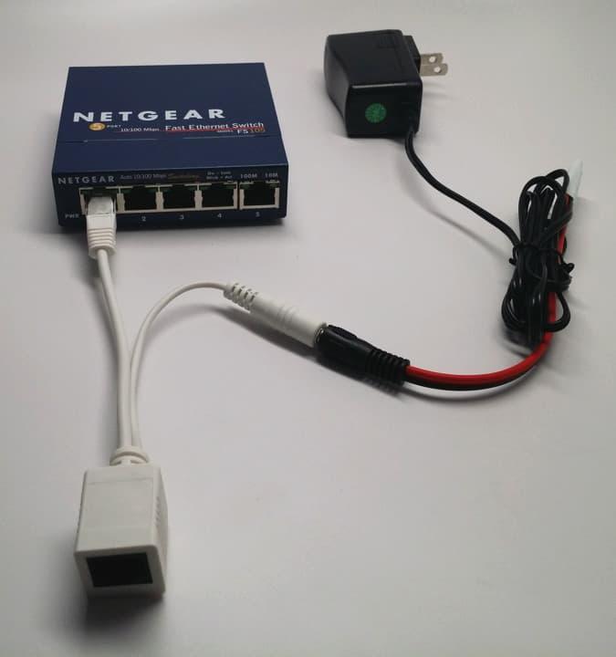 PoE switch PoE injector Raspberry Pi