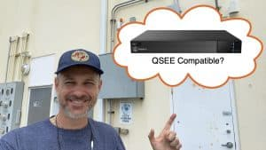 What DVR is compatible with QSEE cameras?