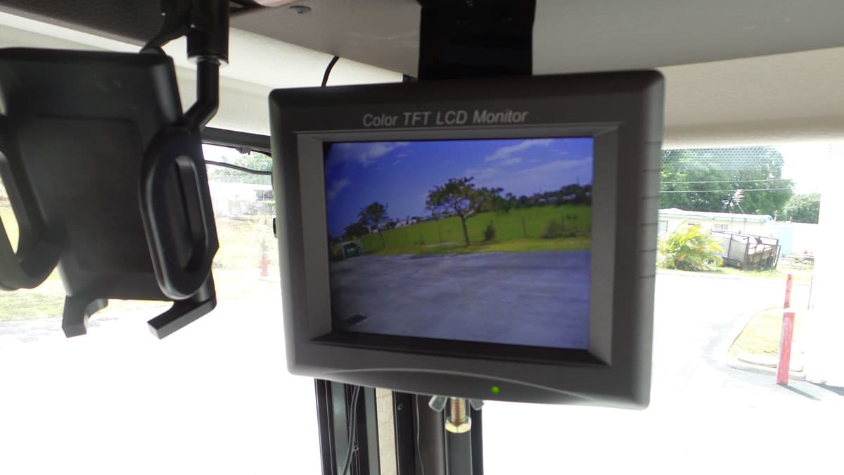 RV Motorhome Side View Camera Monitor