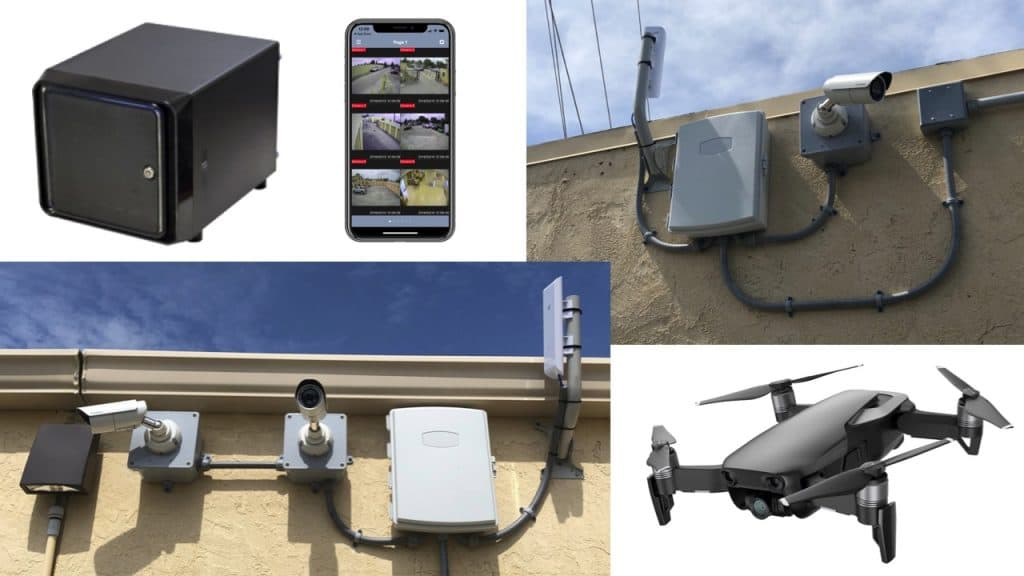 Wireless Security Camera System Video
