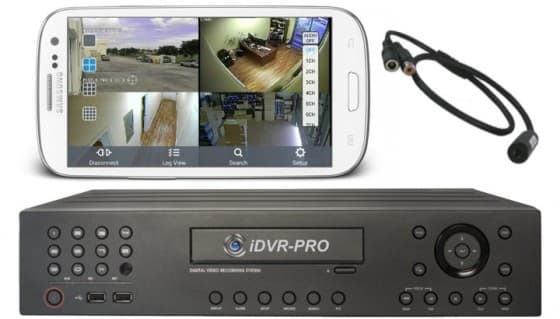 iDVR-PRO Viewer App for Android Supports Remote Internet Audio Surveillance