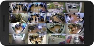android surveillance app live 16 camera view