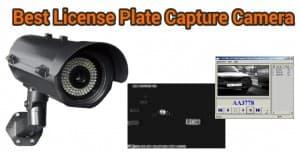 best license plate capture camera