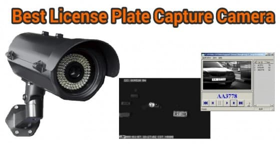 best license plate capture camera