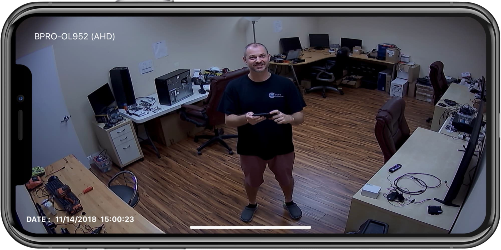 HD security camera iphone app remote view
