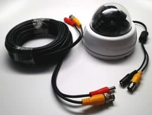 CCTV Camera Cables with Video and Power
