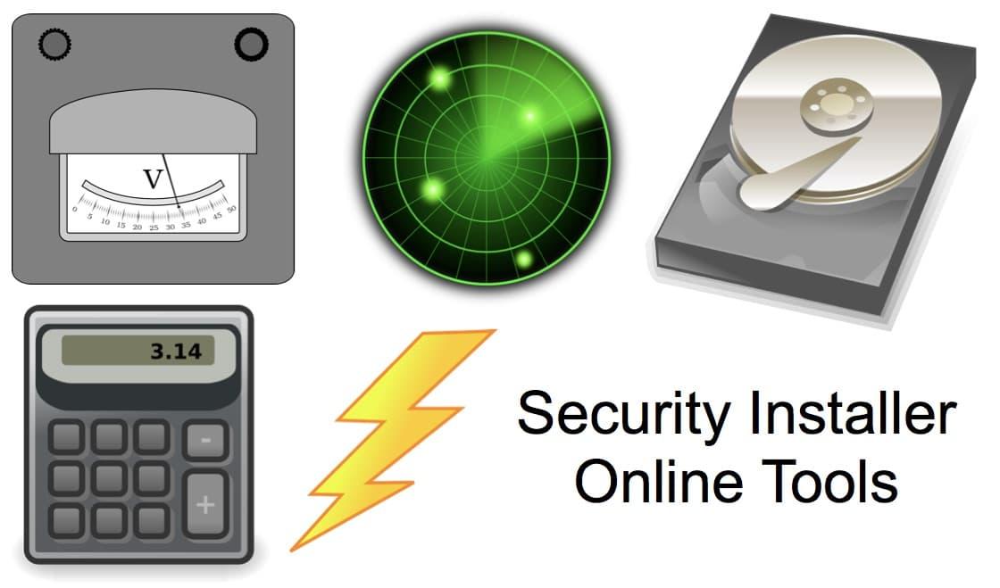 CCTV Installer Tools Calculators