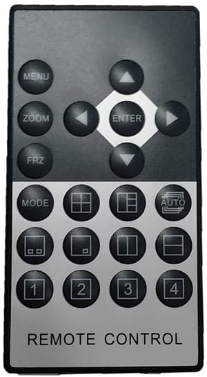 cctv multiplexer remote control