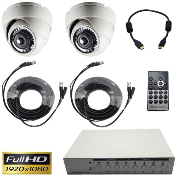 cctv video multiplexer system