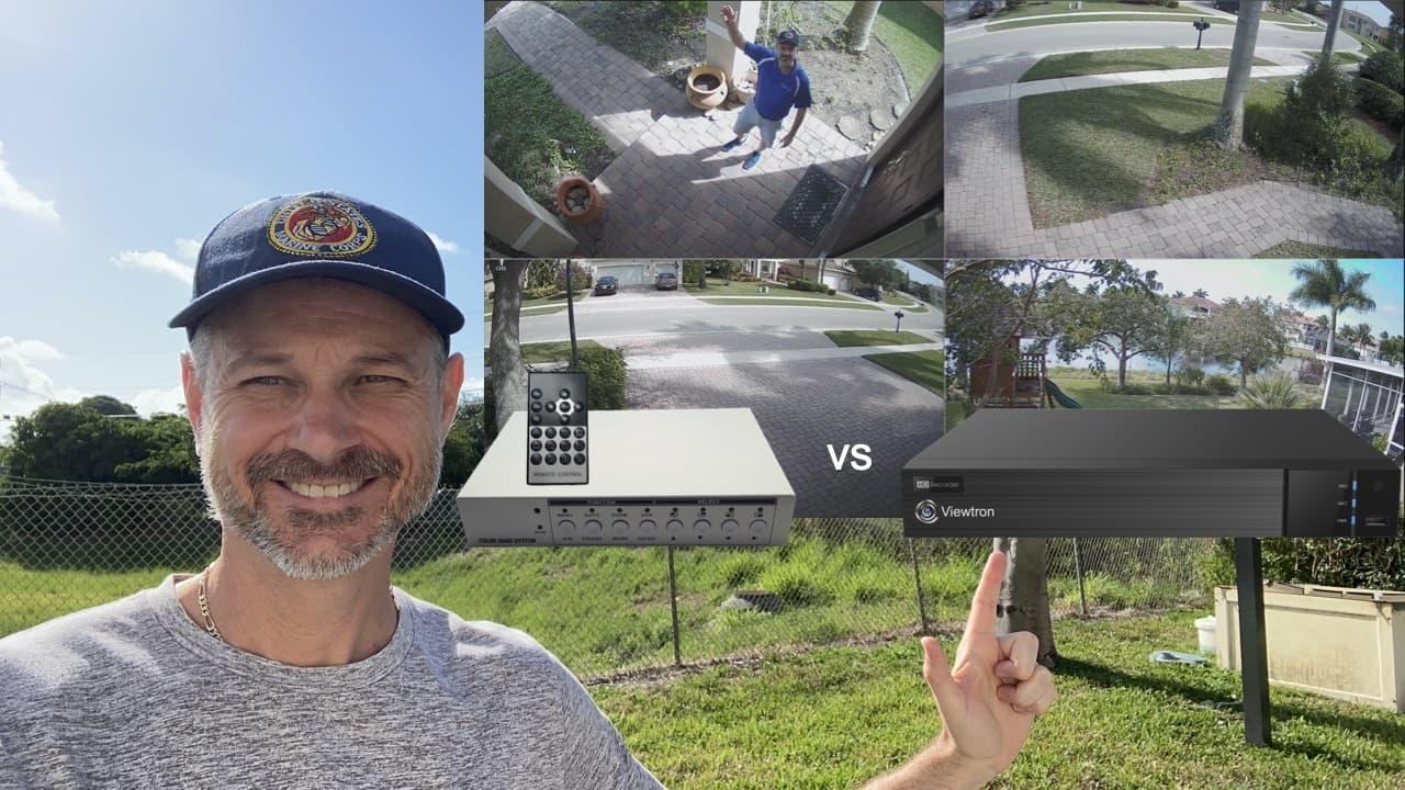 CCTV video multiplexer vs DVR