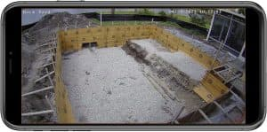 construction security camera iphone