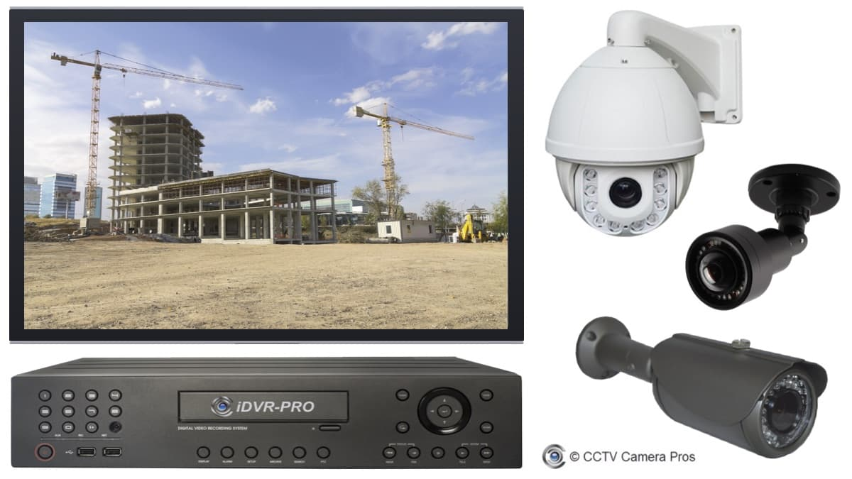 construction site security camera system