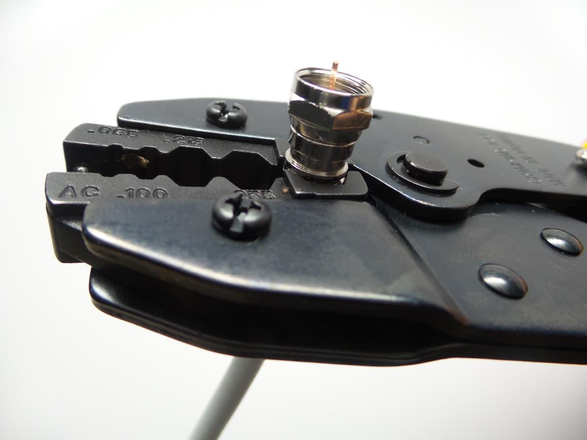 crimp f connector tool