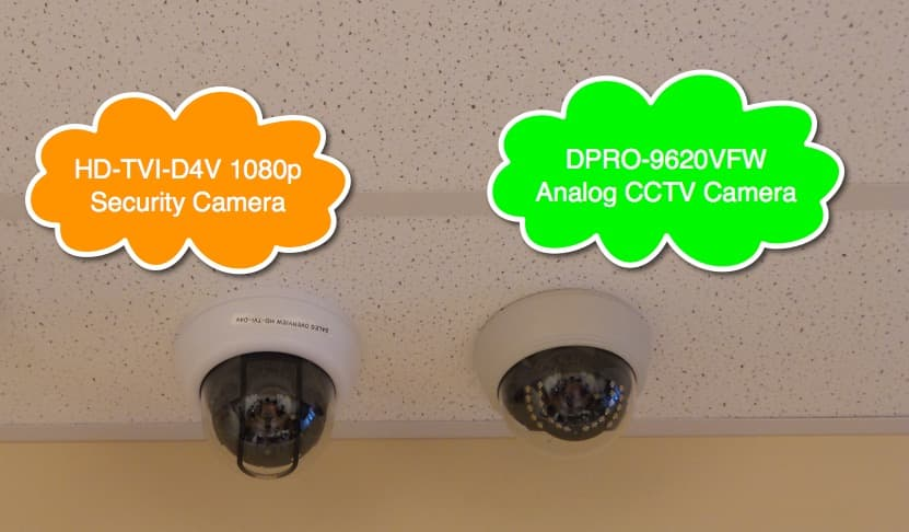 dome security camera ceiling tile installation