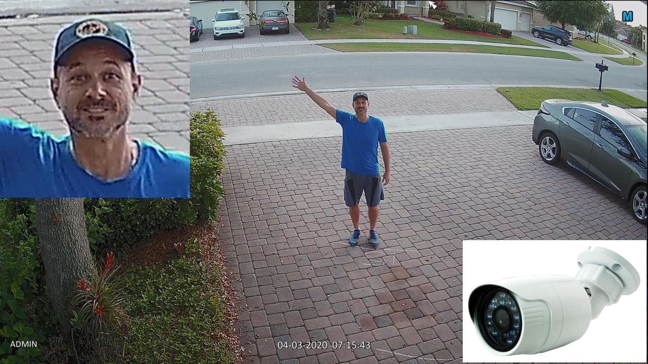 facial recognition security camera