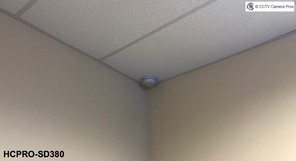hidden smoke detector security camera
