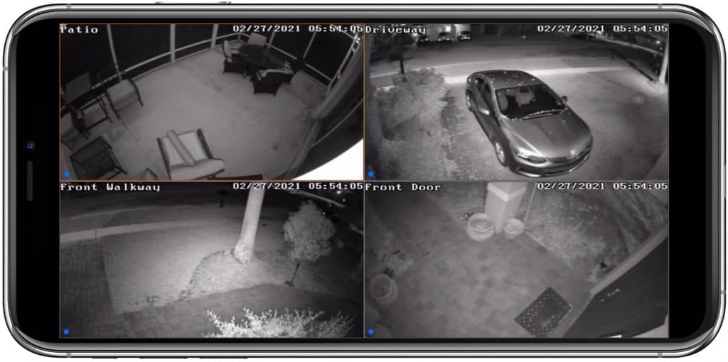 home security camera iphone app
