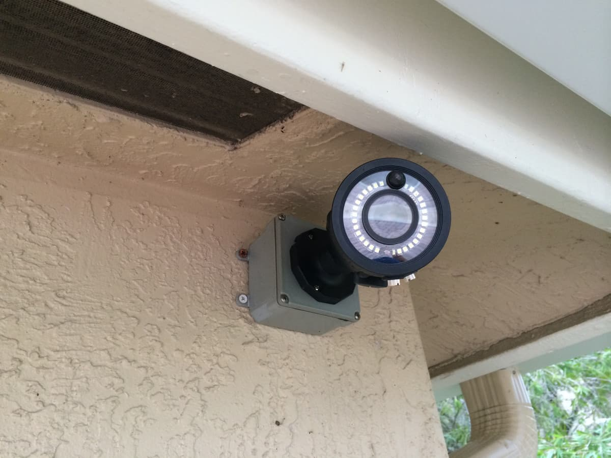Home video surveillance installation 4 for Security camera placement software