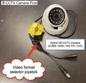 hybrid hd cctv security camera