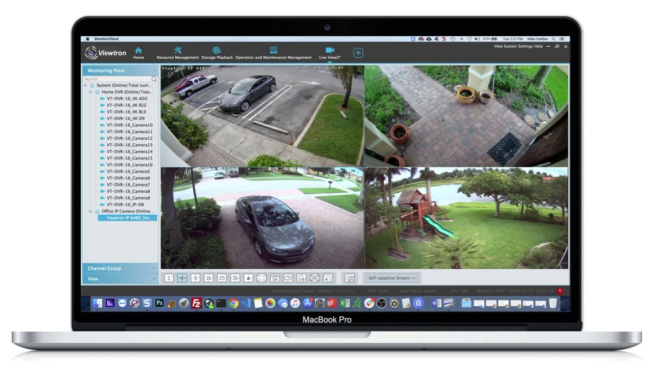 mac security camera software for Viewtron DVRs and IP Cameras