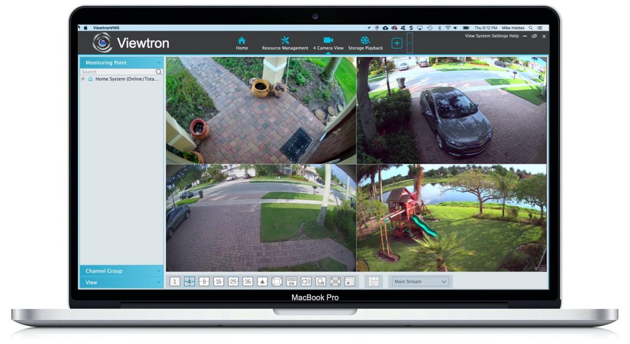 mac security camera software