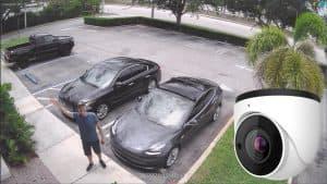 motorized zoom CCTV camera