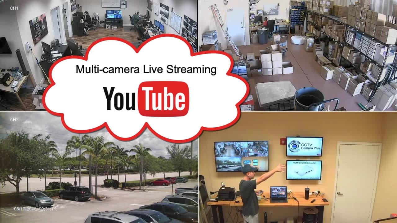 multi camera live streaming