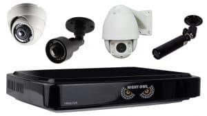 Night Owl DVR compatible security cameras
