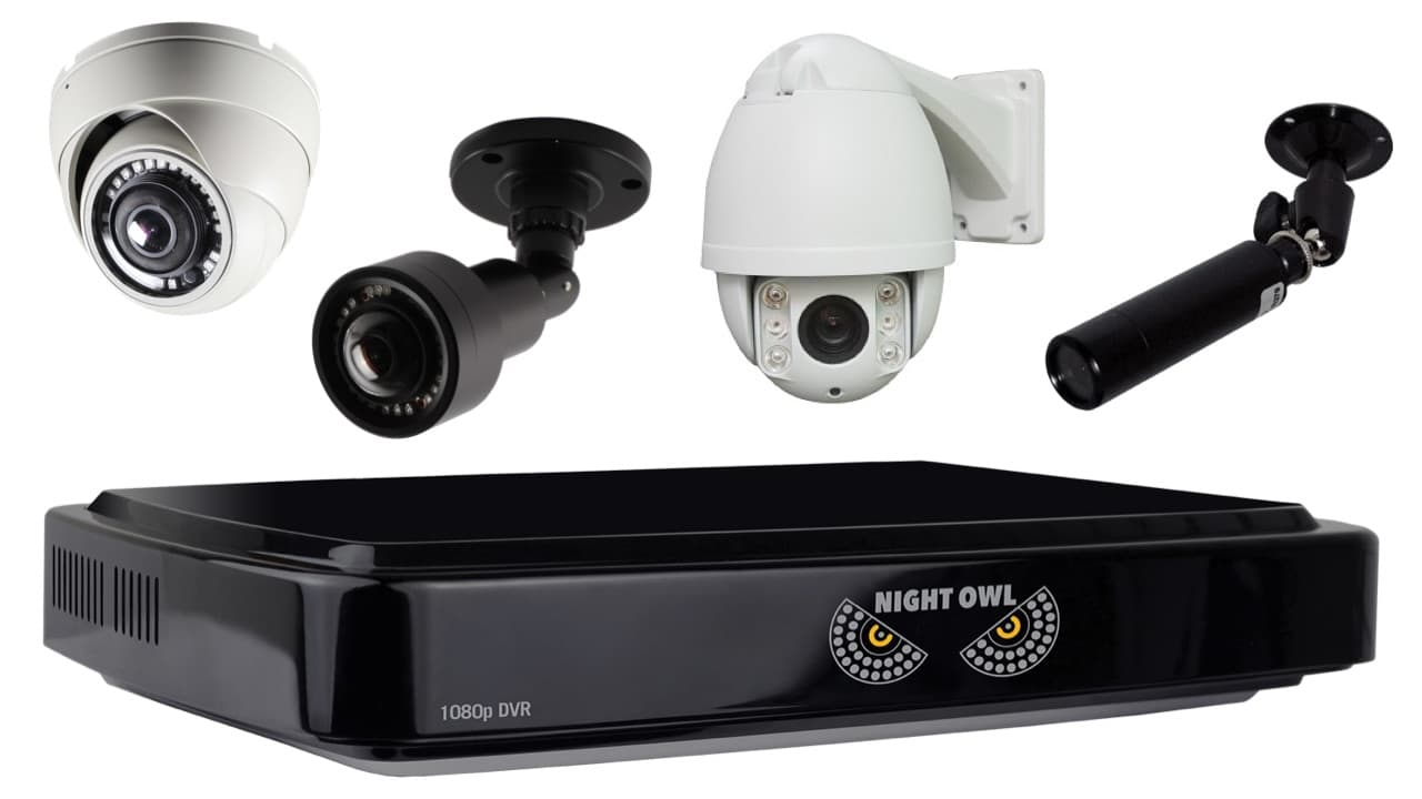 Night Owl DVR compatible security cameras