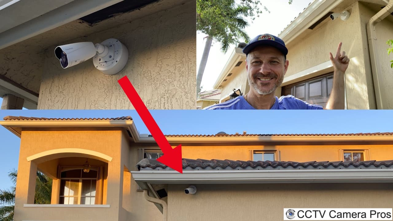 outdoor junction box for security camera