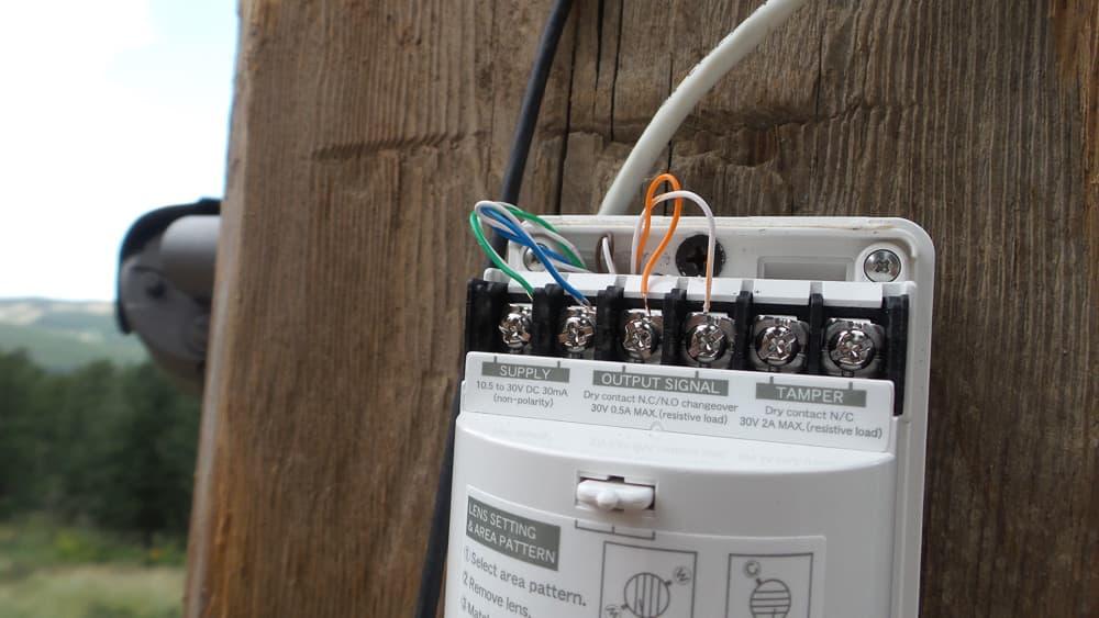 outdoor motion sensor