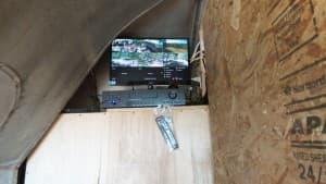 security camera DVR bus installation