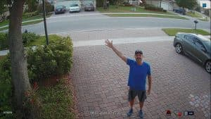 security camera home driveway