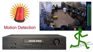 security camera motion detector dvr recording