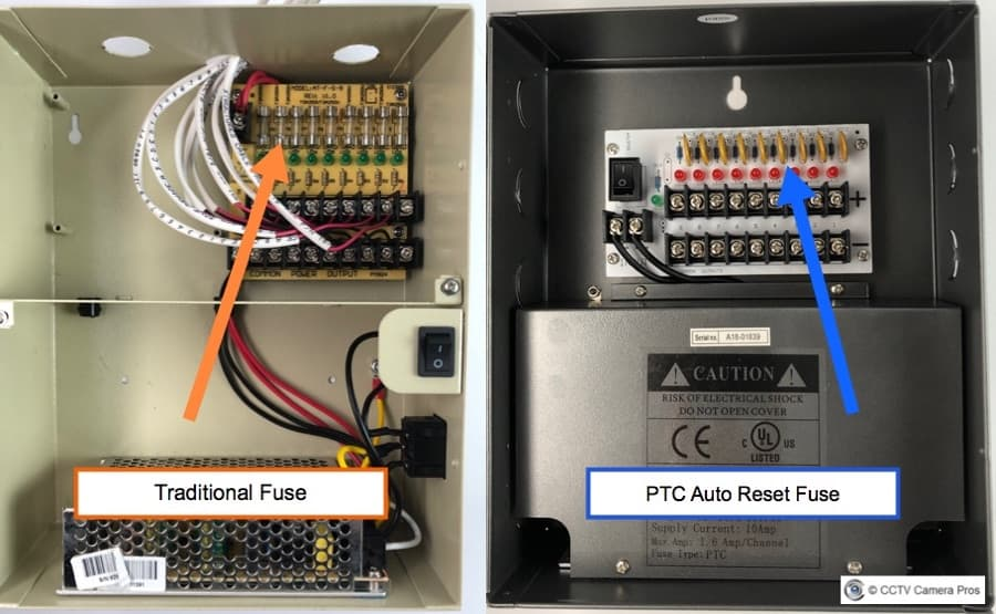 security camera power distribution box