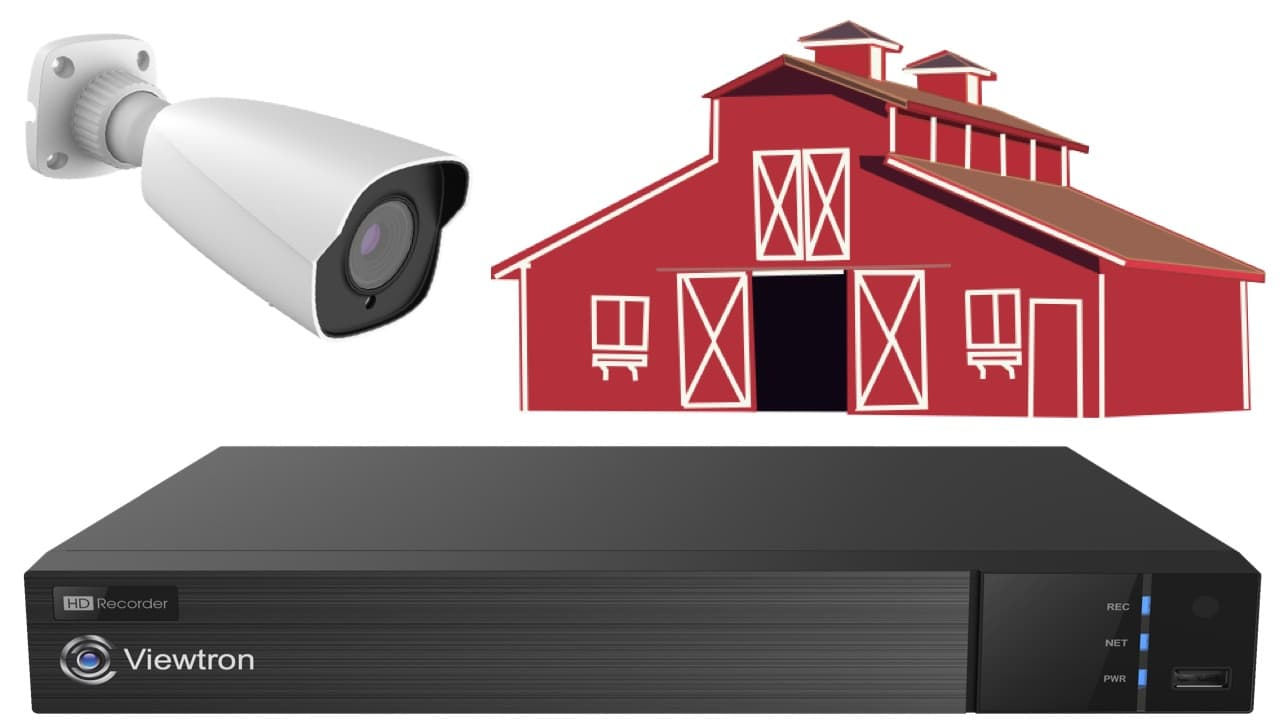 security camera system for barn