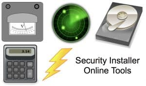 security installer online tools