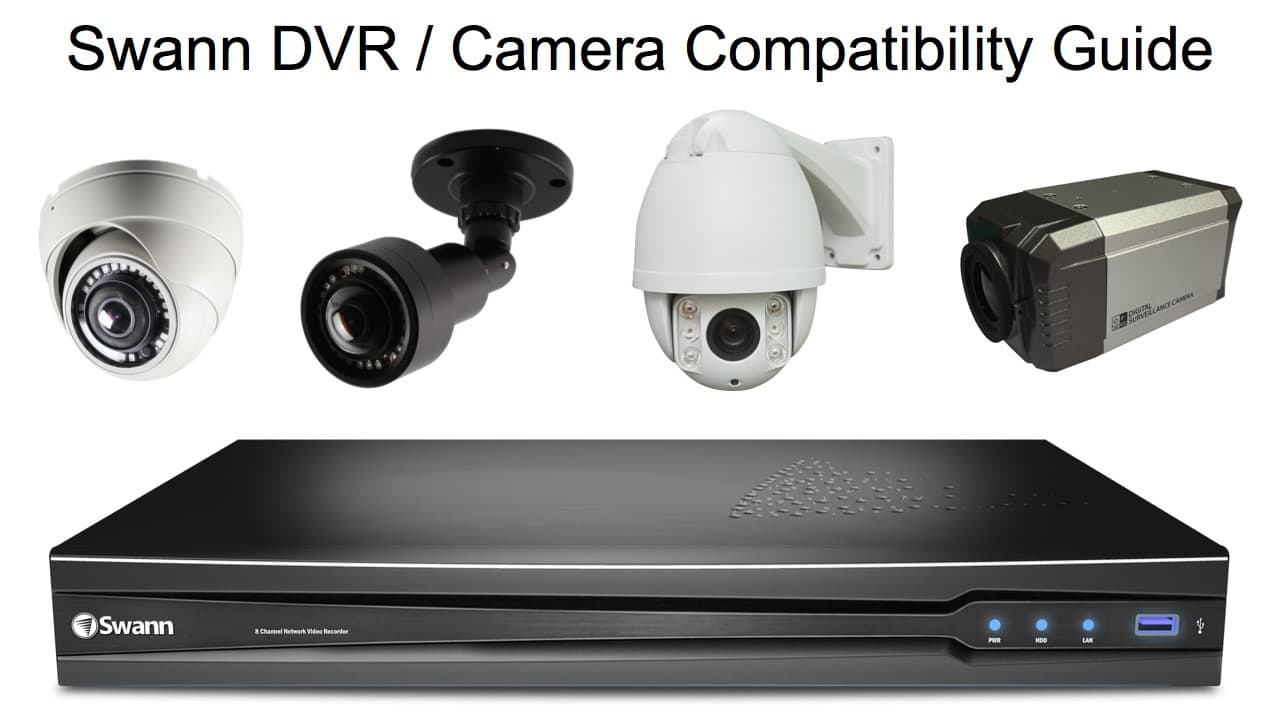 Swann DVR camera compatibility