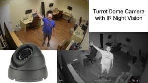turret dome camera