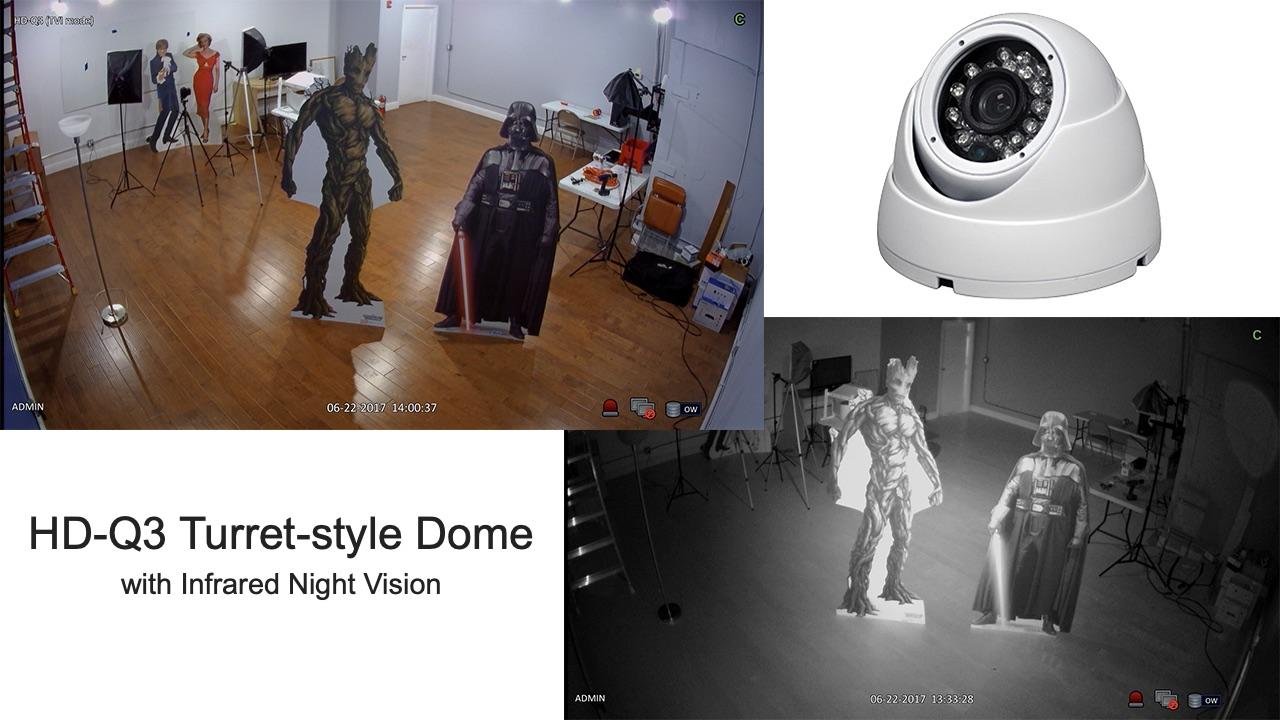 turret security camera